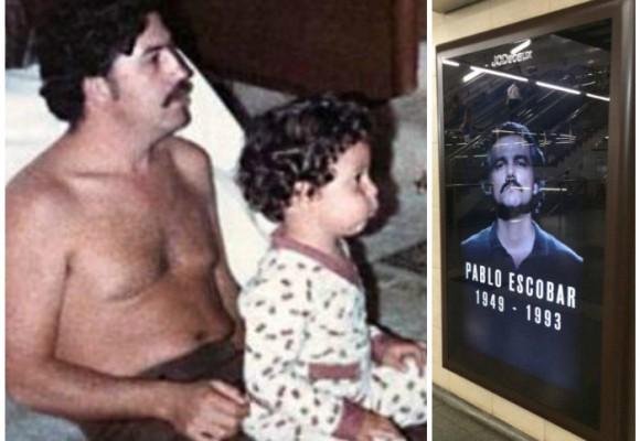 """""""Tuve como niñeras a los peores criminales de Colombia"""", reconoce el hijo de Pablo Escobar"""