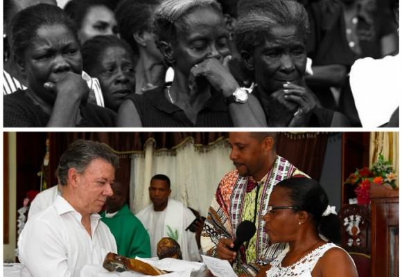 Bojayá: la tragedia de la guerra que conmovió a Santos