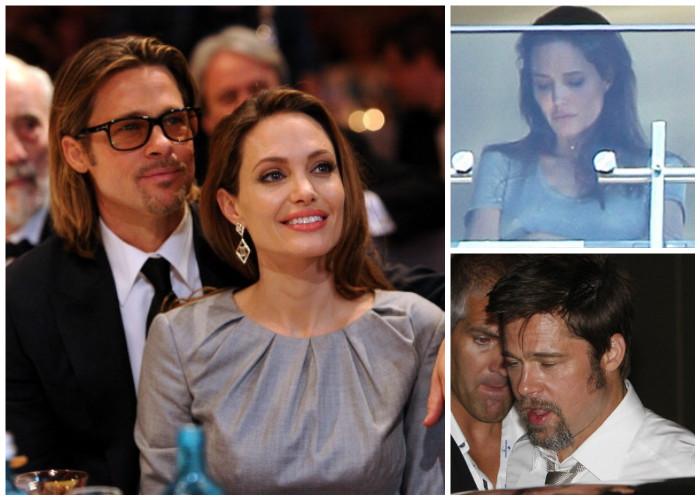 Angelina y Brad Pitt: un odio salpicado de whisky, marihuana y anorexia