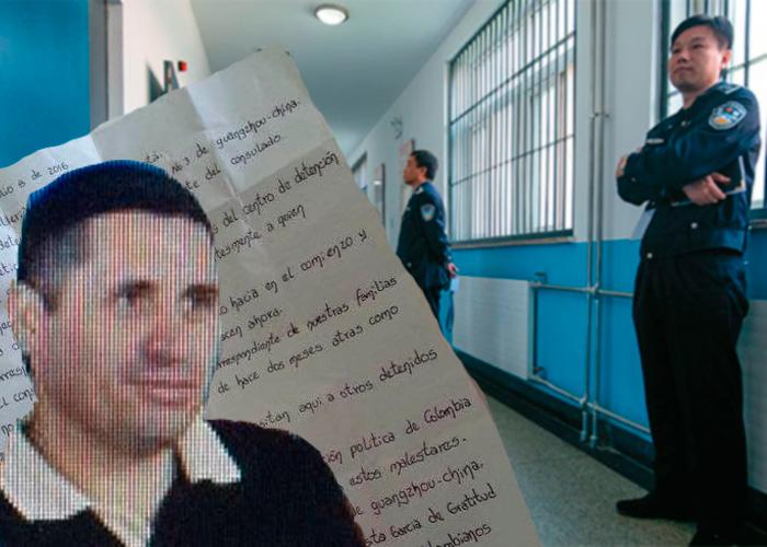 """""""Allí estaba Óscar; encadenado. En el infierno de una cárcel China"""""""