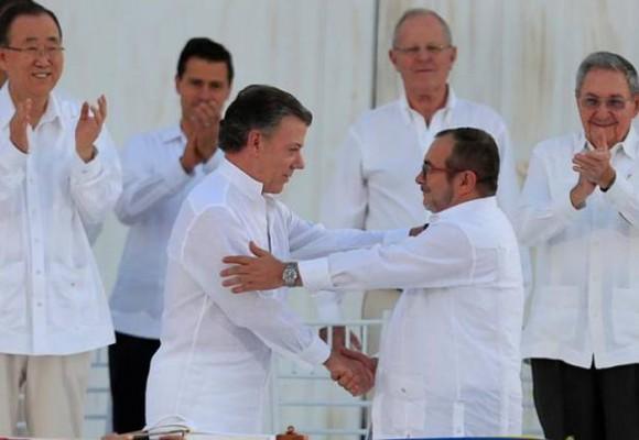 Cartagena, mágica e histórica, fue testigo del inicio de la paz esquiva