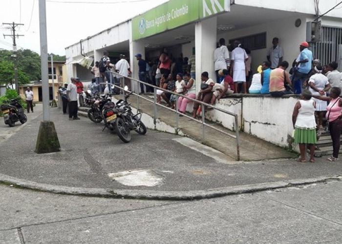 El pésimo servicio del Banco Agrario en Condoto, Chocó - Las2orillas