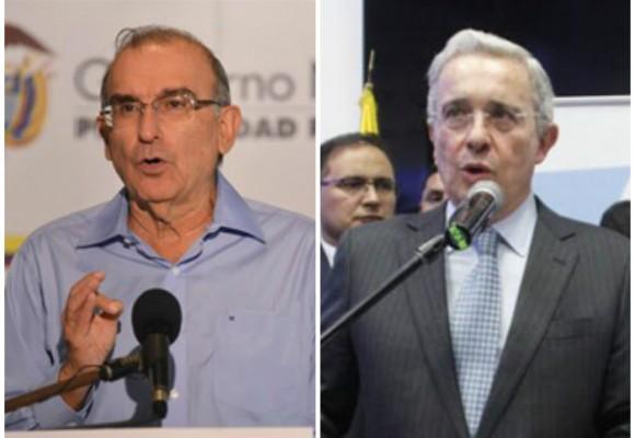 De la Calle versus Uribe: el Sí y el No