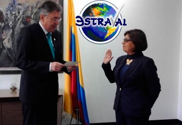 La aparatosa llegada de Mariana Gutiérrez, a la superintendencia encargada de vigilar las libranzas