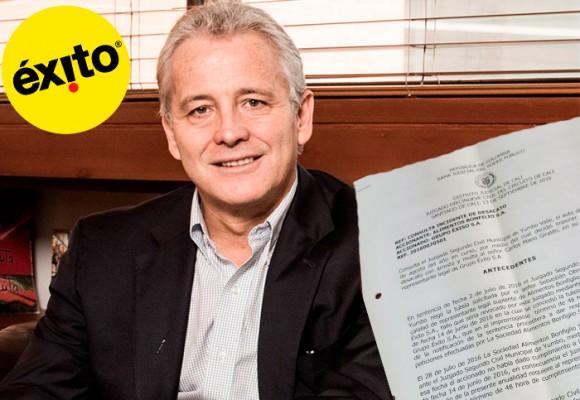 El presidente del Grupo Éxito, Carlos Mario Giraldo, se anota triunfo judicial