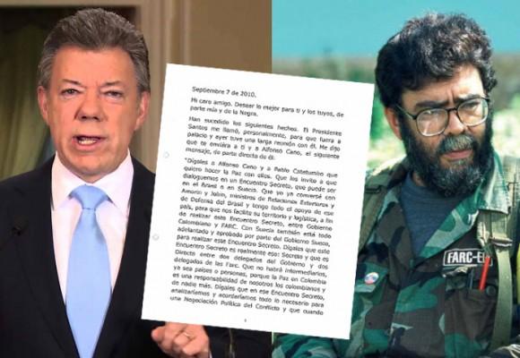 """""""Dígale a Cano y Catatumbo que quiero hacer la paz con ellos"""": el mensaje de Santos que abrió el camino hace 6 años"""
