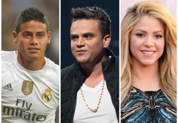 James, Silvestre y Shakira: los famosos indiferentes ante la firma de paz con las Farc