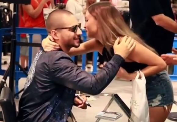 Maluma causa euforia en España