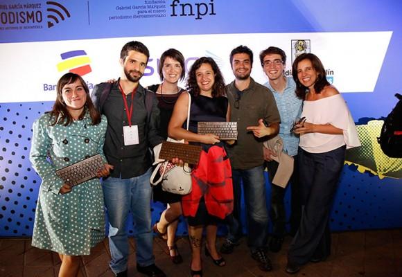 Ganadores periodismo Gabriel García Márquez 2016
