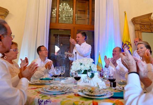 El día más importante de Santos: imágenes desde Cartagena