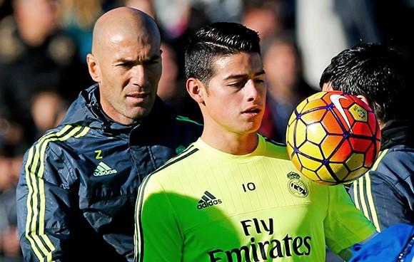 ¿Cuál es la bronca de Zidane con James?