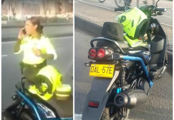 Video: ¿Policía de Tránsito en motocicleta particular deteniendo vehículos?