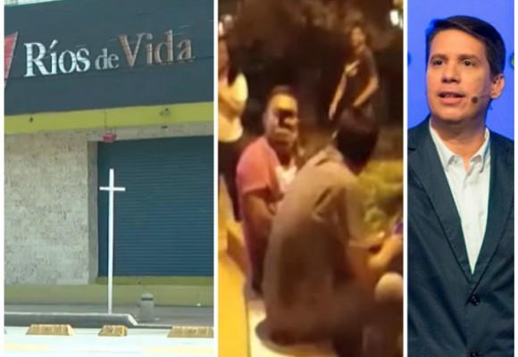 Video: ¿Amenaza de los PEPES a los estudiantes que protestaban contra Pastor del No?