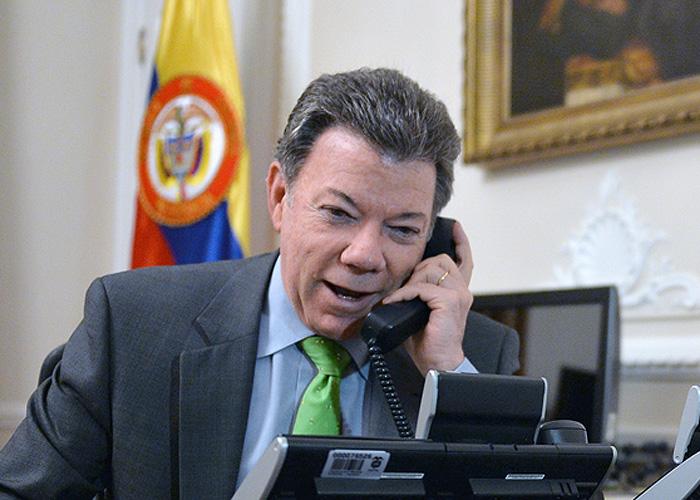 Así fue la llamada con la que Santos se enteró de que había ganado el Nobel