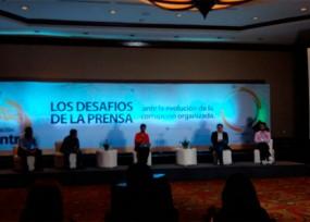Las2orillas en el foro 'Los desafíos de la prensa ante la evolución de la corrupción' en Guatemala