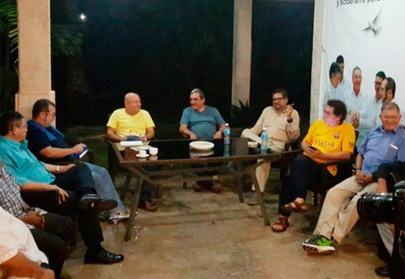 Cumbre del Secretariado de las Farc en La Habana