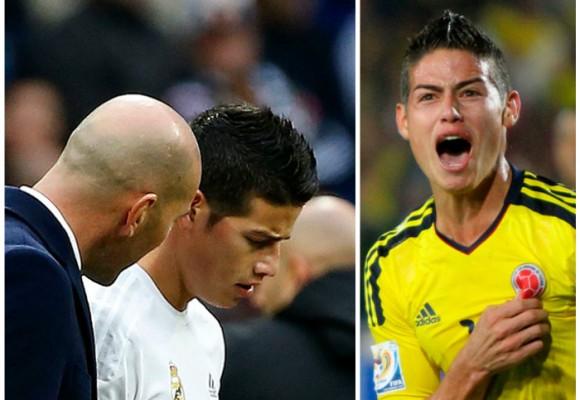 La obsesión de James por jugar con Colombia enfurece al Real Madrid