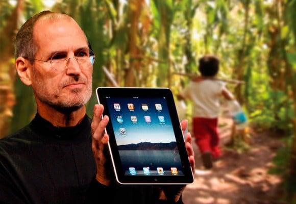 El niño colombiano de 6 años que salvó el iPad, el último sueño de Steve Jobs