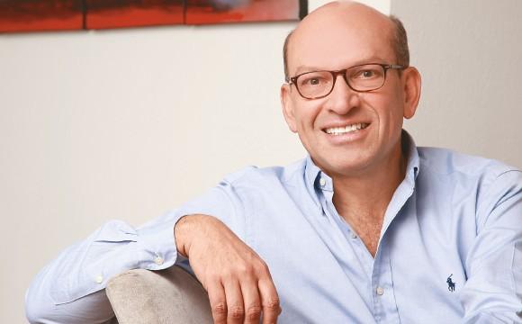 Mauricio Rodríguez entre los dos Palacios: el Nariño y el Liévano