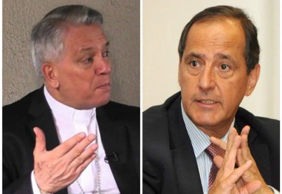 Monseñor Monsalve, el otro seguro en la mesa con el Eln