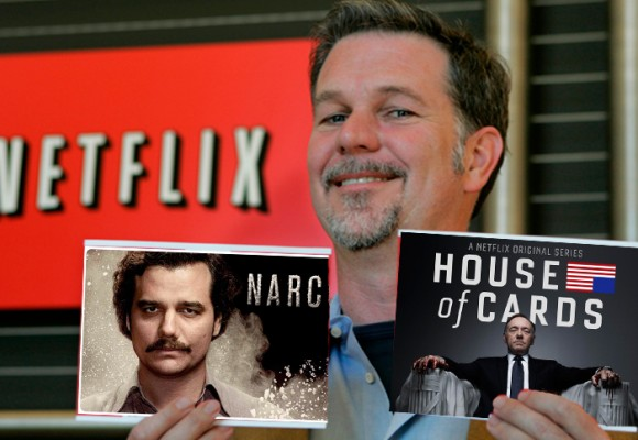 Cuando el dueño de Netflix lanzó en Bogotá el canal más poderoso del mundo