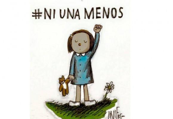 #NiUnaMenos acá, en Argentina y en el mundo entero