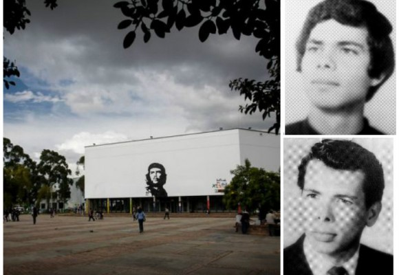 Así se pintó el primer rostro del Che Guevara en la Universidad Nacional