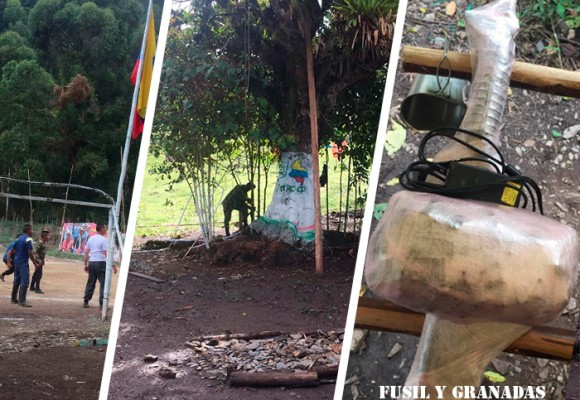 En los campamentos, los guerrilleros de las Farc habían empezado a empacar las armas