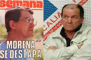 'Báez' fue portada de la revista Semana en la época en la que intentó llegar al Congreso con Morena en 1989.
