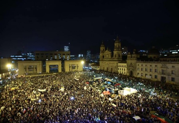La derrota del Sí llenó las calles del país como nunca antes