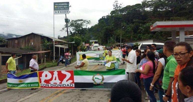 Putumayo sigue aguardando la paz