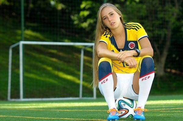 Nicole con la selección Colombia ha estado en Suramericanos y mundiales.