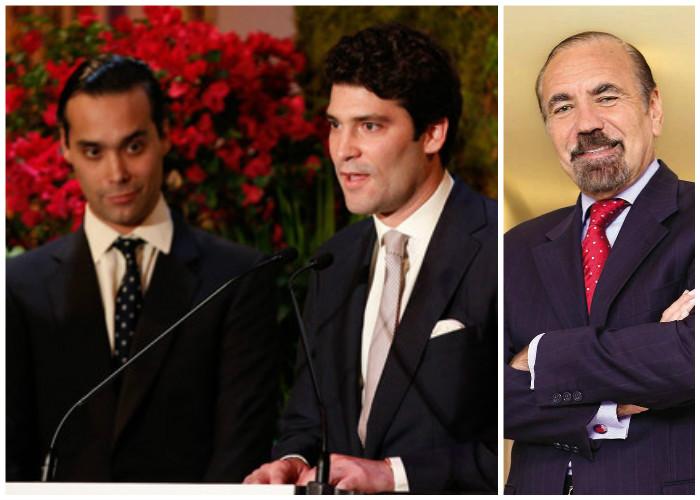 Alejandro y Andrés Santo Domingo, entre los cinco latinos más ricos de Estados Unidos