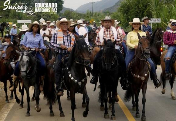 Al pueblo de Suárez, Cauca pan y circo