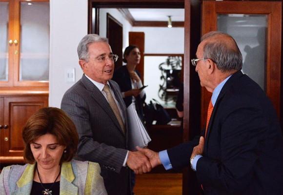 Primera reunión cara a cara de los promotores del No y el Gobierno Santos
