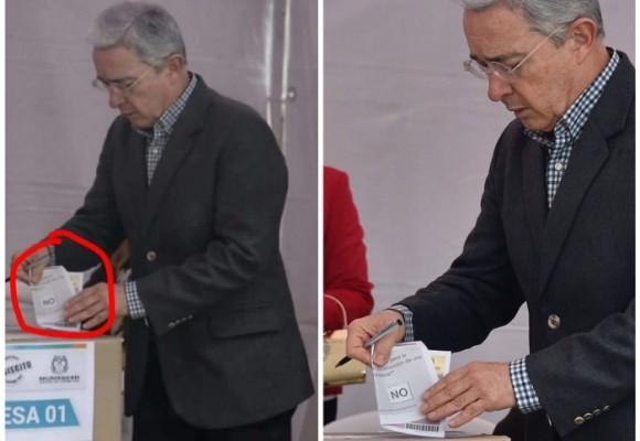 El burdo montaje que le hicieron a Uribe