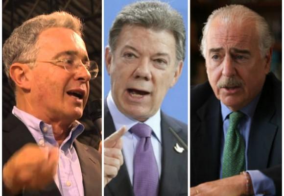 Santos le abre la puerta de Palacio a los expresidentes Uribe y Pastrana
