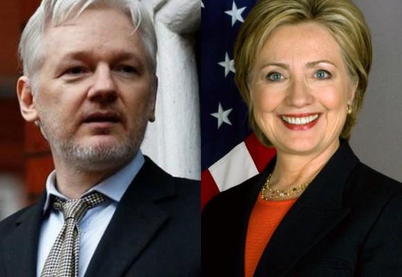 Julián Assange: el hombre que le sacó los trapos sucios a Hillary Clinton