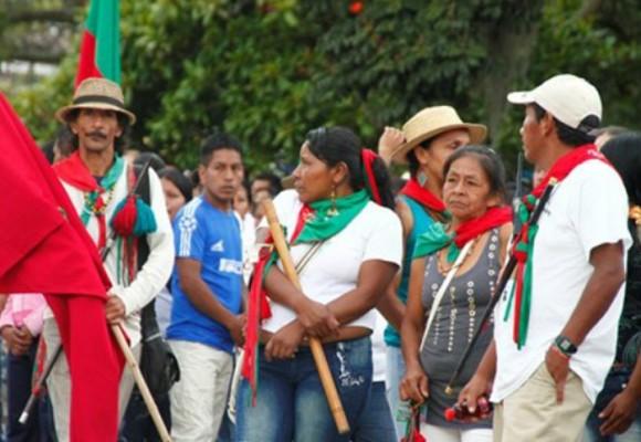 Ante amenazas, campesinos del norte del Cauca realizan vigilancia en cabeceras municipales