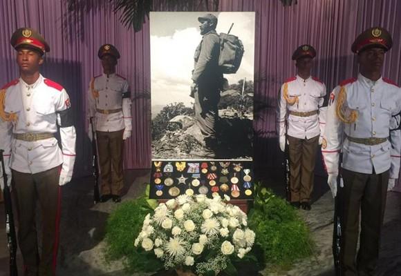 El adiós a Fidel Castro en Cuba. FOTOS