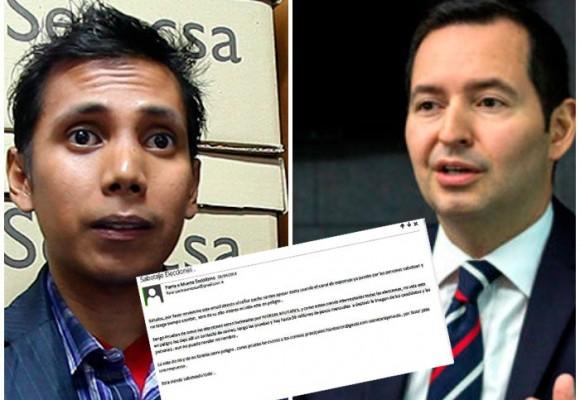 Los correos secretos del hacker Daniel Bajaña a Jorge Perdomo