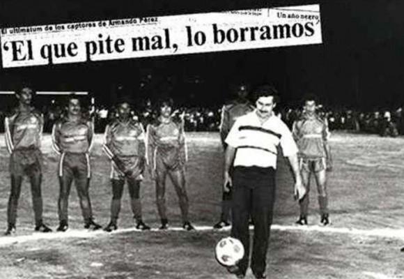 El día que Pablo Escobar ordenó asesinar a un árbitro por anular un gol de su equipo