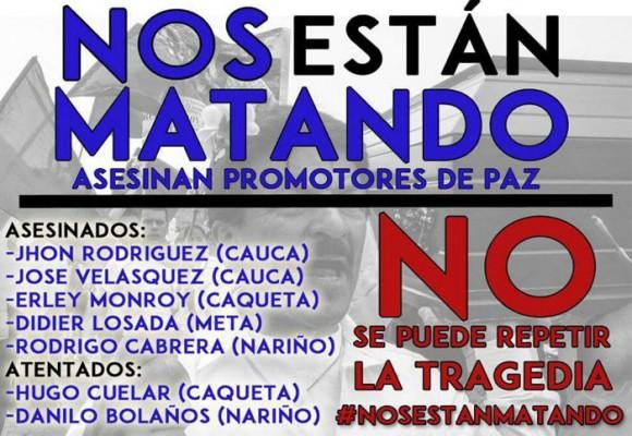 ¿Por qué están asesinando a los voceros e integrantes de Marcha Patriótica en Colombia?