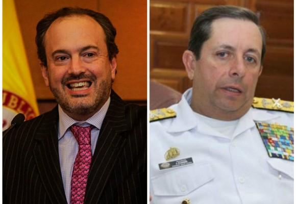 La Presidencia se le atraviesa al debate contra el almirante (r) Echandía por caso Óscar Iván Zuluaga