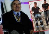 El exoesqueleto colombiano que pondría a caminar a Luis Fernando Montoya