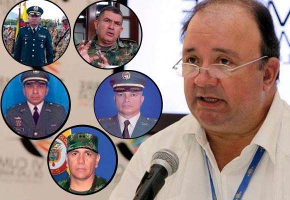 El dossier de los cinco altos mandos con estrella negra por falsos positivos