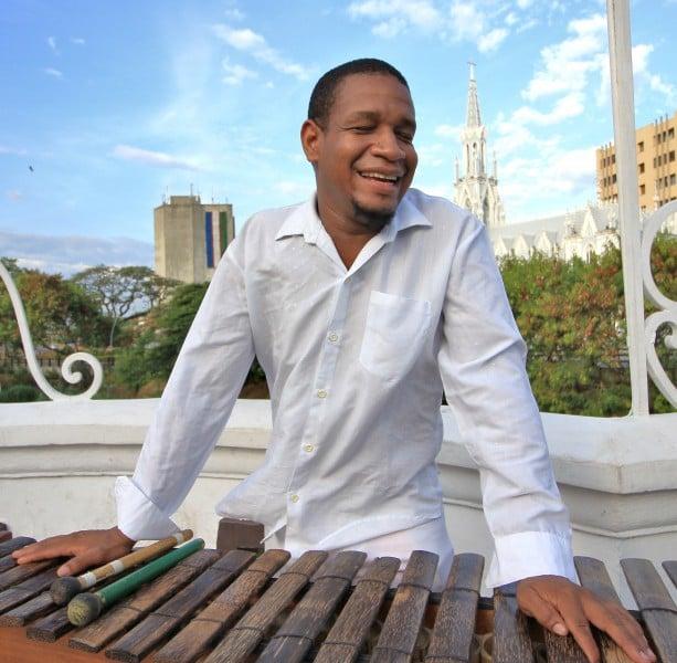 Moisés Zamora, un virtuoso de la marimba. Foto: David Lara Ramos
