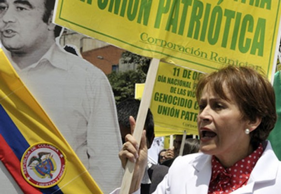 Jahel Quiroga, la mujer que no ha dejado que los muertos de la UP pasen al olvido