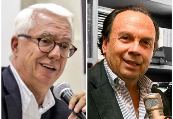 Jorge Enrique Robledo escogió a Hernán Peláez para conversar, no de fútbol, sino de política