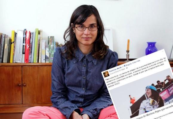 Carolina Sanín: una víctima de su propio discurso